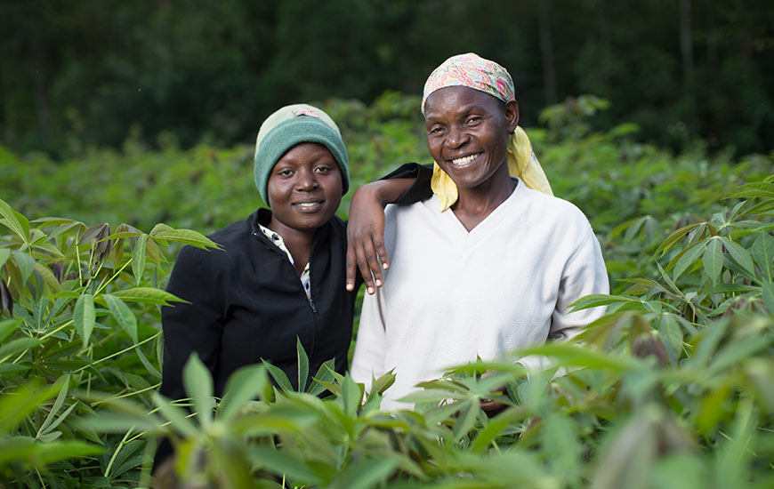Female farmers in Kenya